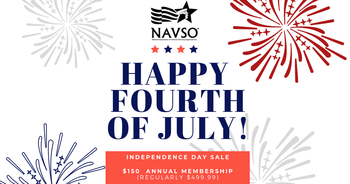 $150 Annual NAVSO Membership - Independence Day Sale