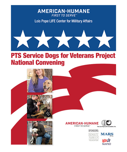 PTS Service Dogs for Veterans Project National Convening